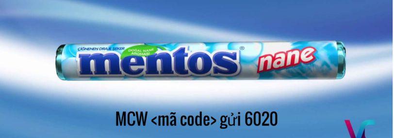 Tổng đài tin nhắn - Khuyến mãi Mentos 2019
