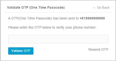 Tin nhắn xác thực - Tin nhắn OTP